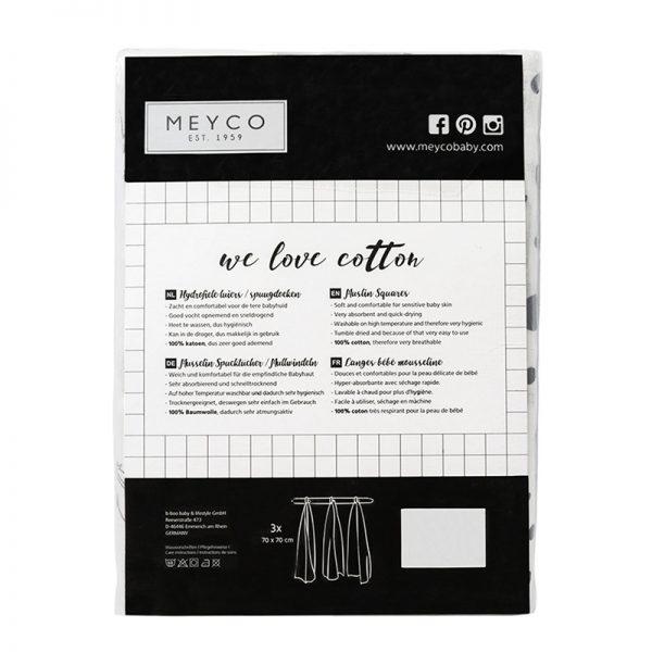 Meyco hydrofiele luiers roze verpakking2