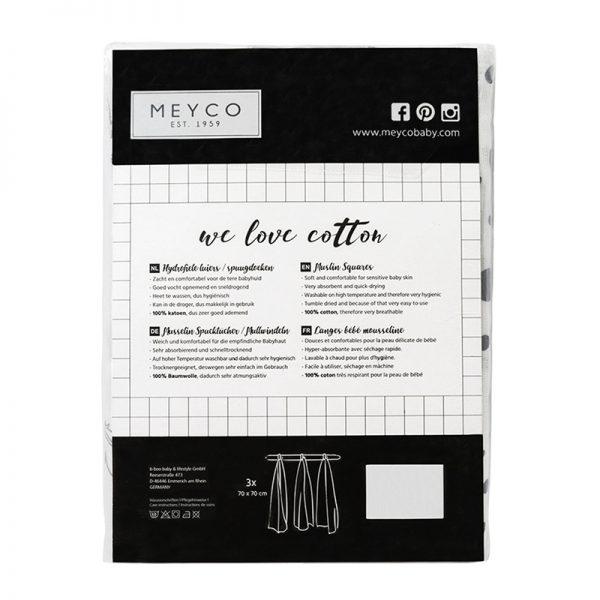 Meyco hydrofiele monddoekjes roze verpakking-2