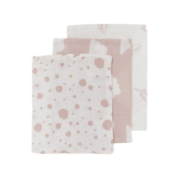 Meyco washandjes roze